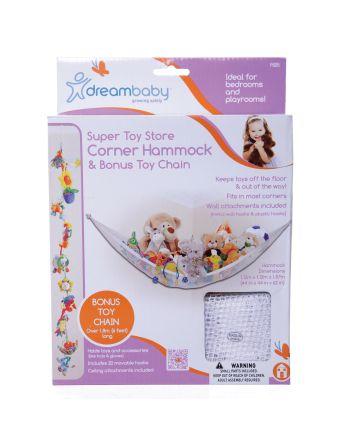 Super Toy Store Corner Hammock with Bonus Toy Chain