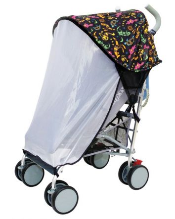 Strollerbuddy® Stroller Extenda-Shade® with Insect Netting - Animal Pattern