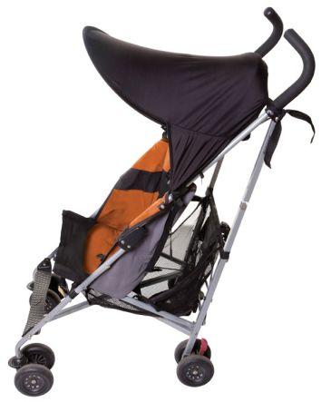 Strollerbuddy® Stroller Extenda-Shade® - Black