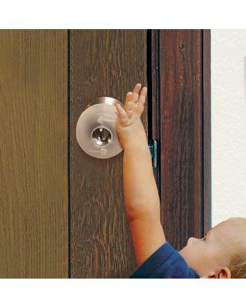 EZY-FIT DOOR KNOB COVERS 3 PACK