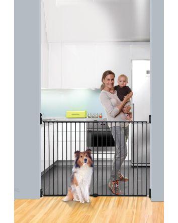 BROADWAY XTRA-WIDE & XTRA-TALL GRO-GATE® BLACK