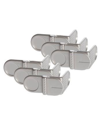 Dreambaby Style Range Angle Locks, 6 Pack