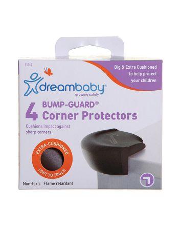 BUMP-GUARD® CORNER PROTECTORS 4 PK - BROWN