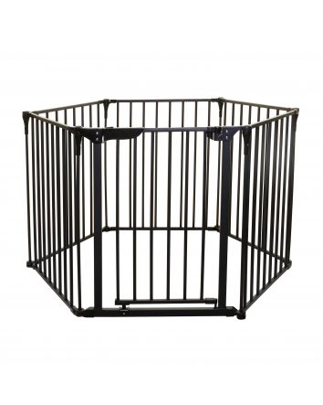 Royale 3-in-1 Converta® Play-Yard, Fireplace, and Wide Barrier Gate