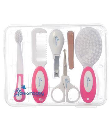 Essential Grooming Kit - 10 Piece, Pink