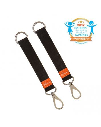 Strollerbuddy® EZY-Loop Stroller Clips - 2 pack
