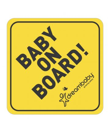 Baby on Board Adhesive Decal