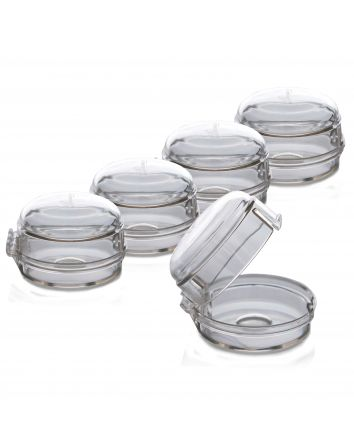 Stove and Oven Knob Covers - 5 Pack